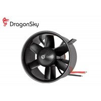 DragonSky (DS-DF-1750KV) Ducted Fan Unit 6 Blades 86mm with 1750KV Brushless Motor