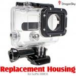 DragonSky (DS-HERO3-HOUSING) Replacement Housing for GoPro HERO3