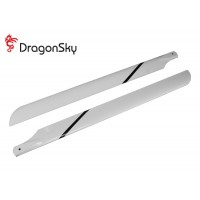DragonSky (DS-M-600G-01) Glass Fiber Main Blades 600mm