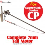 DragonSky (DS-SUPER-CP-TAIL) Super CP / Mini CP / Genius CP Complete 7mm Tail Motor Upgrade Set