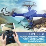 JJRC H38WH COMBO X RC Quadcopter RTF WiFi FPV 2MP Camera / Detachable Modular Arm / Headless Mode DRONE