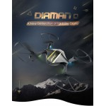 JJRC H44WH DIAMAN Foldable Pocket WIFI FPV Selfie DRONE - Altitude Hold 720P HD Camera RC Quadcopter