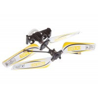 SH (SH-6025-1-HEAD-Y) 6025-1 MINIX 3.5CH Helicopters Complete Rotor Head Assembly Set (Yellow)