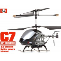 SH (SH-6030-BK) C7 3.5CH Helicopter with Gyroscopes System and video Camera (Black)