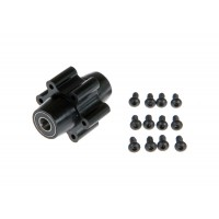 AR Racing (X-306) Front Wheel Hubs with Bearings