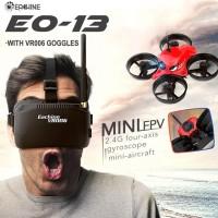 Eachine E013 Micro FPV Racing Quadcopter drone with 5.8G 1000TVL 40CH Camera VR006 Goggles RTF