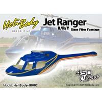 HELIBODY (HELIBODY-JR002) Jet Ranger B / R / Y Glass Fiber Fuselage - 450 Class