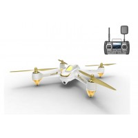 Hubsan H501S High Edition White Version - X4 FPV Brushless 1080P HD Camera GPS RTF with H906A Remote Control