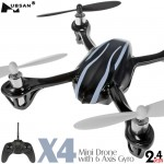 HUBSAN (HS-H107) X4 Mini Drone 6 Axis Gyro 4CH UFO RTF (Mode1) -  2.4GHz