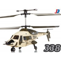 Jin Xing Da (JXD-338-Y) SkyWolf 3CH RTF Helicopter with LED and Gyroscopes System (Yellow)