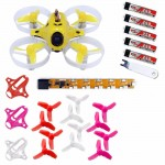 KINGKONG TINY6 Advanced Combo 65mm Micro FPV Quadcopter With 615 Brushed Motors Based on F3 Brush Flight Controller 800TVL