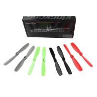 20PCS (10 Pairs) Kingkong 5045 5x4.5 Bullnose PC Fiberglass CW & CCW Props Propellers For QAV250 FPV racing