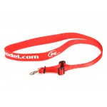 KY Model (KY-NECK-STRAP-R) Transmitter Neck Strap (Red)