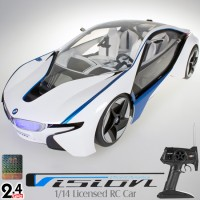 MJX RC (MJX-8545) BMW Vision Efficient Dynamics VED 1/14 Licensed RC Car RTR - 27MHz