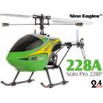 Nine Eagles (NE-R/C-228A-SOLO-PRO-G) Solo Pro 228P 4CH Helicopter RTF (Green) - 2.4GHz