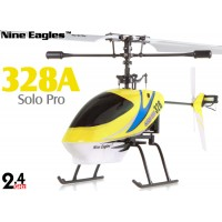Nine Eagles (NE-R/C-328A-SOLO-PRO-Y) 4CH Solo Pro 328 Micro Helicopter RTF (Yellow) - 2.4GHz