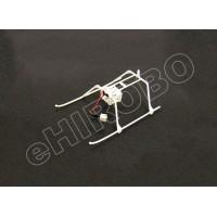 Nine Eagles (NE4260041)  Landing Skids with Plug (White)