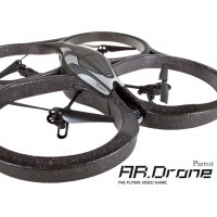 Parrot AR. Drone Quadricopter Controlleed by iPod Touch, iPhone, iPad and Android Devices