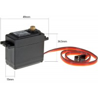 Power HD (HD-1201MG) Standard Metal Gear Analog Servo 60G 13.2KG 0.14sec