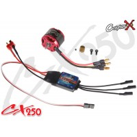 CopterX (CX250-10-07) 3400KV Brushless Motor & 20A V2 Brushless ESC Set