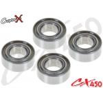 CopterX (CX450-09-02) Bearings(693ZZ) 3x8x4mm