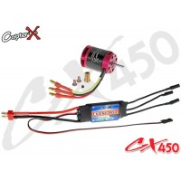 CopterX (CX450-10-07) 430XL Brushless Motor & 40A Brushless ESC with BEC