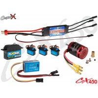 CopterX (CX450EPP-FBL-V2) 450 Flybarless Electronic Parts Package V2