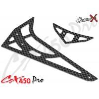 CopterX (CX450PRO-06-04) Carbon Fiber Stabilizer Set