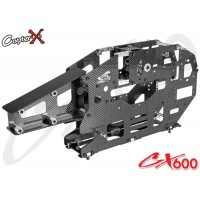 CopterX (CX600BA-03-01) Carbon Fiber & Metal Main Frame