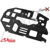 CopterX (CX600BA-03-02) Carbon Main Frame Left