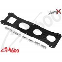 CopterX (CX600BA-03-04) Carbon Bottom Plate