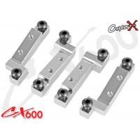 CopterX (CX600BA-03-07) Metal Pitch / Aileron Servo Mount