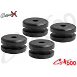 CopterX (CX600BA-07-06) Rubber Mount for Canopy