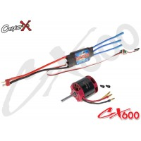 CopterX (CX600BA-10-03) 600XL 1100KV Brushless Motor with 100A Brushless ESC