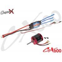 CopterX (CX600BA-10-03) 600XL 1100KV Brushless Motor with 100A Brushless ESC