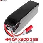 WALKERA (HM-QR-X800-Z-55) Li-Po Battery (22.2V 10000mAh 10C)