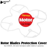 HUBSAN (HS-H107-A19) Rotor Blades Protection Cover for H107C X4 LED Version with Video Camera (White)