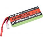 Nine Eagles (NE480105) 2S 7.4V 600mAh Li-Po Battery