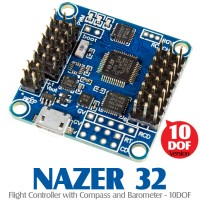 AfroFlight NAZER 32 (NAZE32)Flight Controller with Compass and Barometer - 10DOF