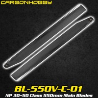 CarbonHobby (BL-550V-C-01) NP 30~50 Class 550mm Main Blades