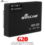 BOSCAM (BOSCAM-G20) G20 5.8G 32CH VTX FPV Transmitter for GoPro HERO 3, 3+, 4 Camera