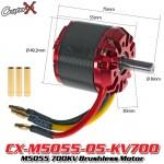 CopterX (CX-M5055-05-KV700) M5055 700KV Brushless Motor
