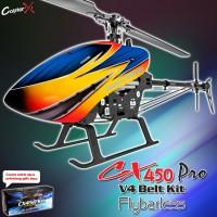 CopterX CX 450PRO V4 Flybarless Belt Version Kit