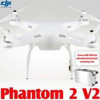 DJI Phantom 2 V2 2.4G with Wheeled Aluminium Carrying Case