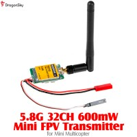 DragonSky (DS-FPV-5.8G-600MW-TX) 5.8G 32CH 600mW Mini FPV Transmitter for Mini Multicopter