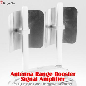 DragonSky (DS-INSPIRE1-P3-AB) Antenna Range Booster Signal Amplifier for DJI Inspire 1 and Phantom 3 Transmitter
