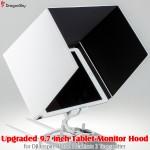 DragonSky (DS-INSPIRE1-P3-TX-MH97) Upgraded 9.7 inch Tablet Monitor Hood for DJI Inspire 1 and Phantom 3 Transmitter