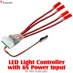 DragonSky (DS-LED-MC-6S) LED Light Controller with 6S Power Input for Mini Multicopter