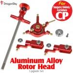 DragonSky (DS-SUPER-CP-RH-R) Super CP / Mini CP / Genius CP Aluminum Alloy Rotor Head Upgrade Set (Red)