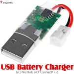 DragonSky (DS-USB-MCP) USB Battery Charger for E-flite Blade mCP X and mCP X v2